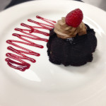 Genesis Steakhouse & Wine Bar Menu, Lava Cake with Chocolate Mousse