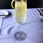Genesis Steakhouse & Wine Bar Drinks, French 75