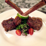 Genesis Steakhouse & Wine Bar Menu, Lamb Chops with Cucumber